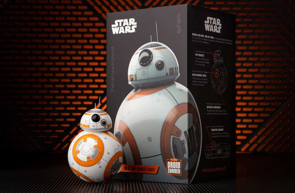 Интерактивный робот Sphero Star Wars BB 8