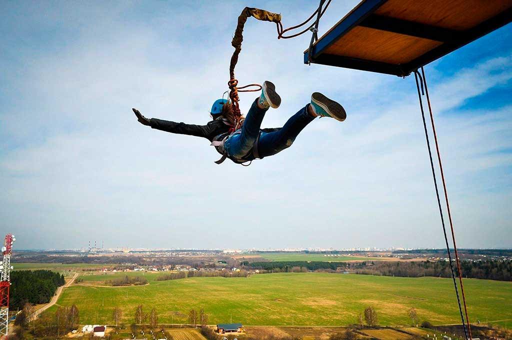 Роупджампинг – прыжки с веревкой