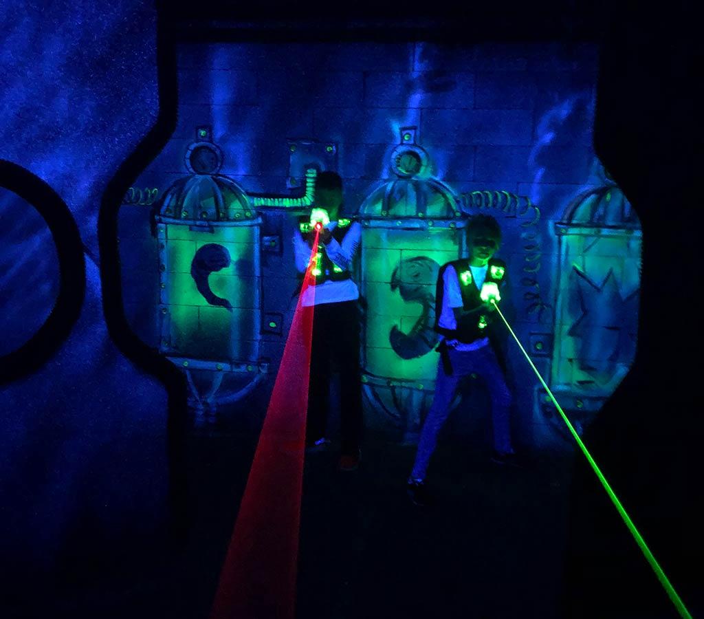 лазерный клуб в москве для детей